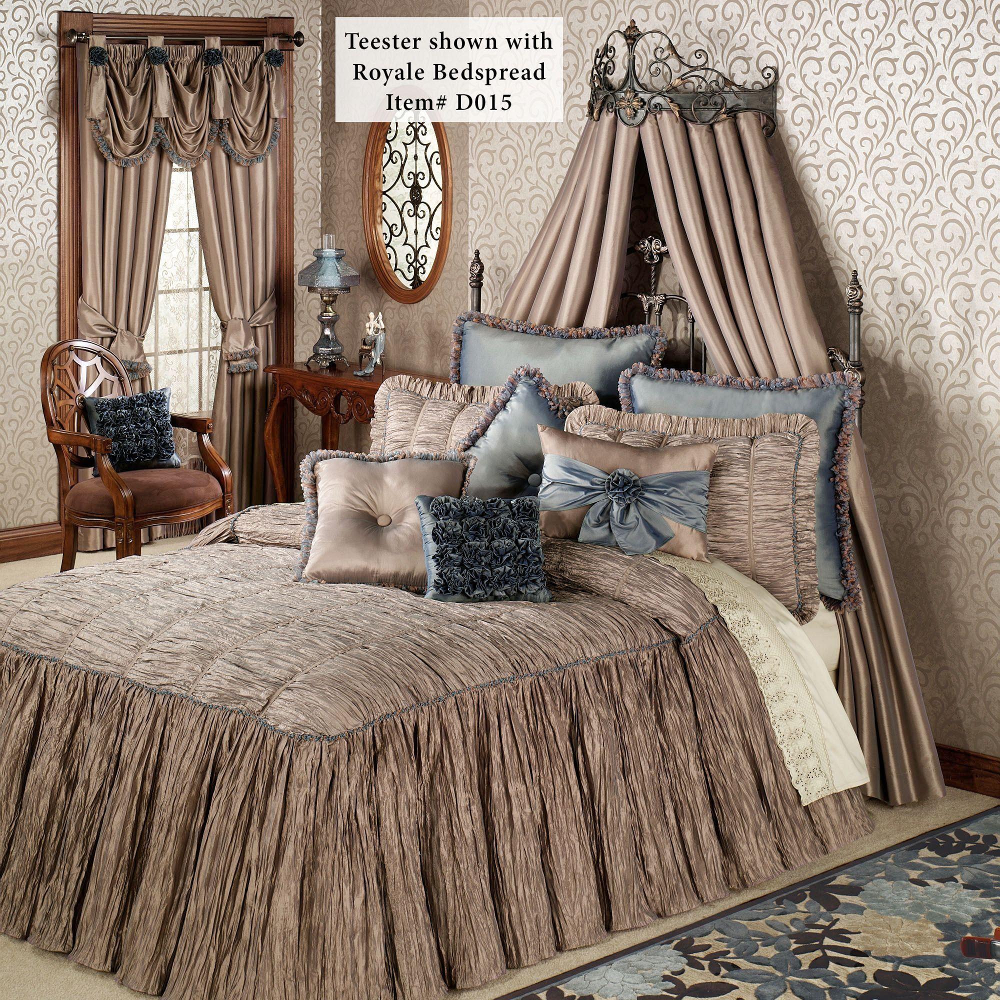 Teagan Wall Teester Bed Crown on Wall Teester Bed Crown  id=48710