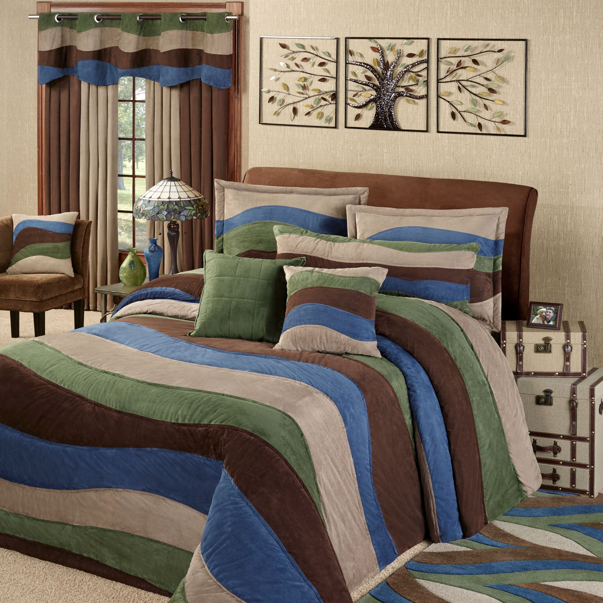 Momentum Faux Suede Oversized Bedspread Bedding