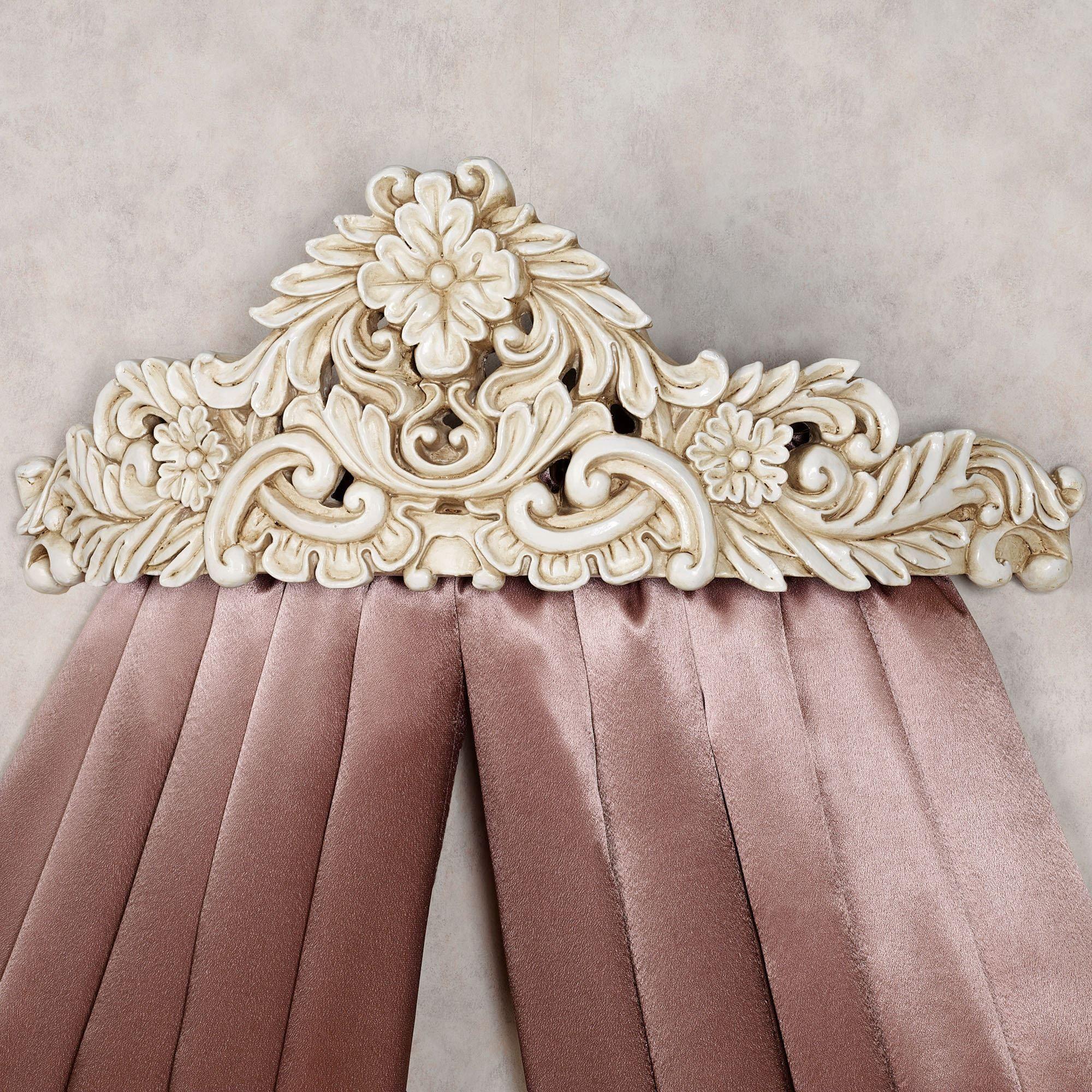 Viviana Wall Teester Bed Crown on Wall Teester Bed Crown  id=85708