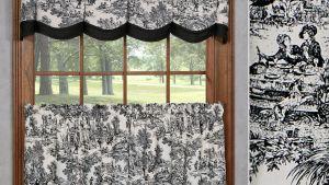 Victoria Park Toile Window Treatments