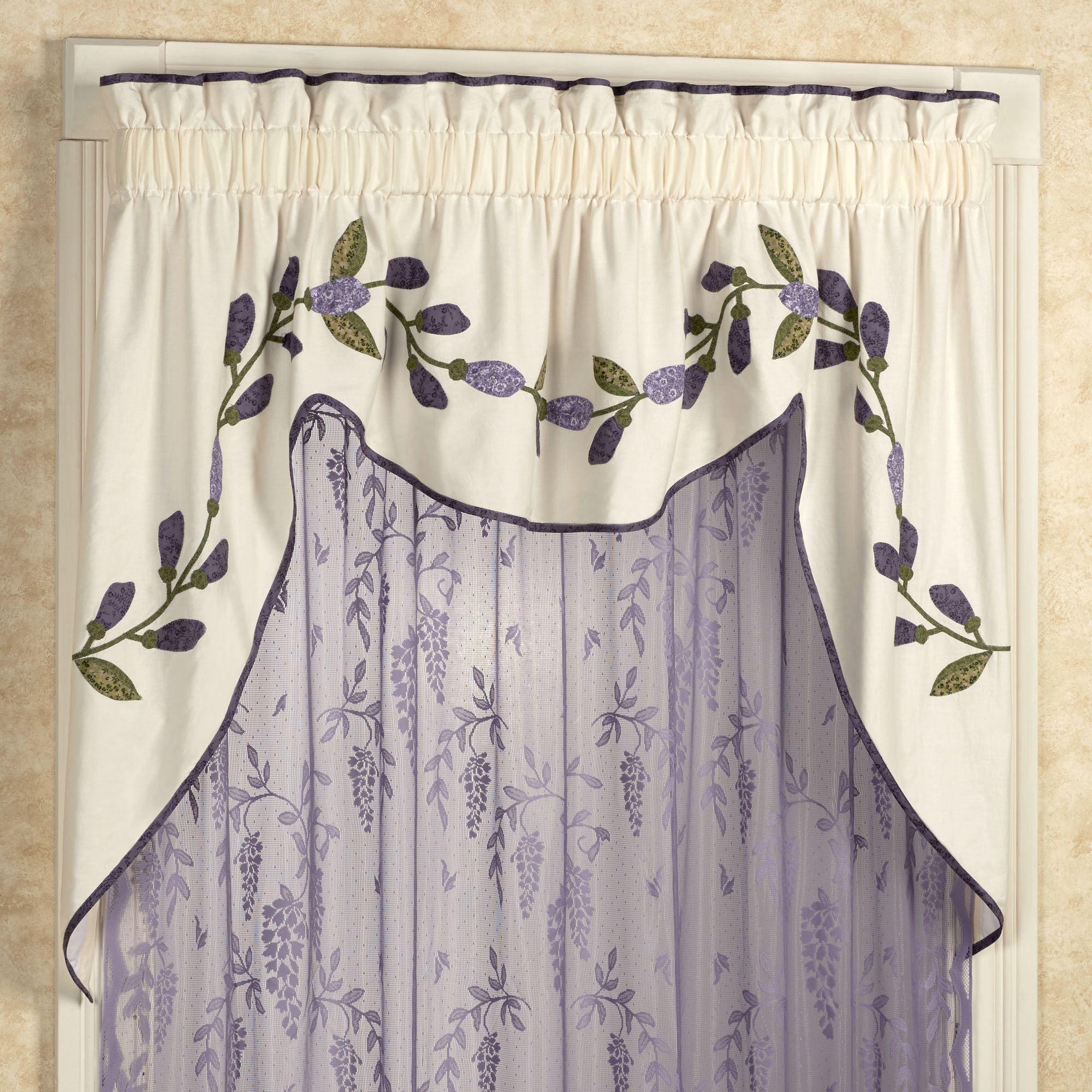 https www touchofclass com wisteria garden swag valance light cream 72 x 36 p w081 005