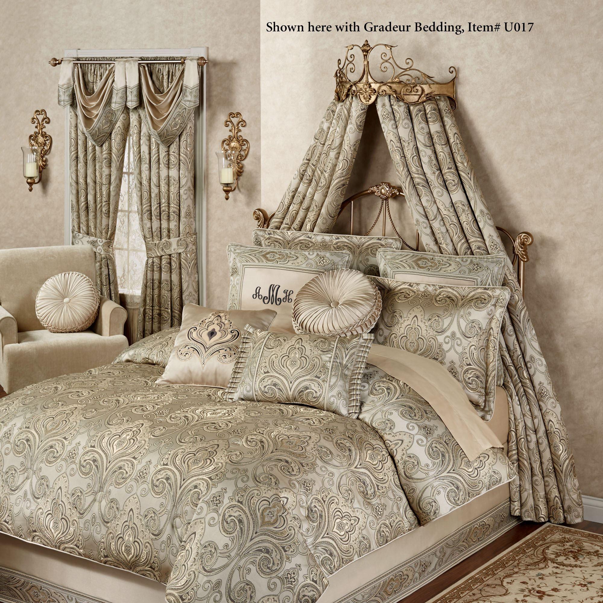 Tarleton Wall Teester Bed Crown on Wall Teester Bed Crown  id=65421