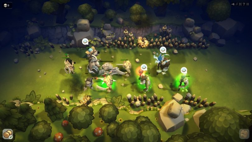 Guards 3D Review  iOS  Android    Touch Tap Play Guards 3D is a really interesting strategy RPG mix for mobile released by  Battlecruiser Games  This game is deceptively easy at first with mechanics  so