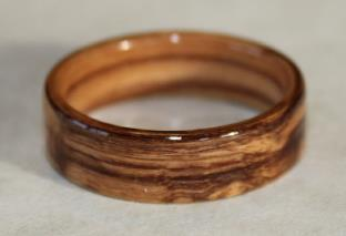 Wooden Rings Made From Bethlehem Holy Land Olive Wood