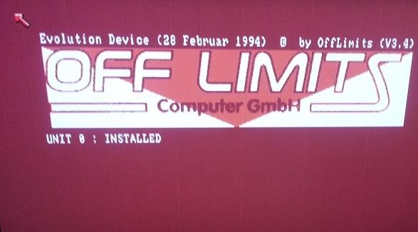 Multi Evo SCSI Installed