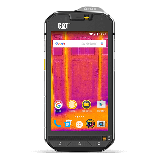 CAT S60 Rugged and Waterproof Smartphone with Thermal Imaging Camera