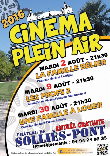 CINEMA PLEIN AIR A SOLLIES PONT