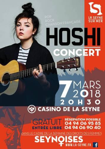 CONCERT HOSHI CASINO DE LA SEYNE SUR MER
