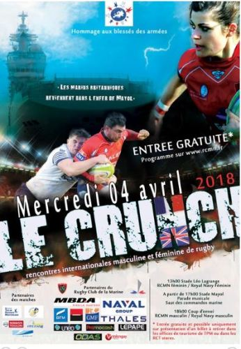 LE CRUNCH RUGBY TOULON