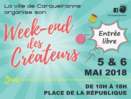 WEEK END DES CREATEURS CARQUEIRANNE