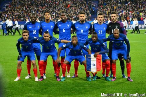 EQUIPE DE FRANCE COUPE DU MONDE DE LA FIFA
