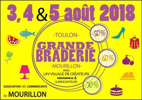 GRANDE BRADERIE DU MOURILLON 2018