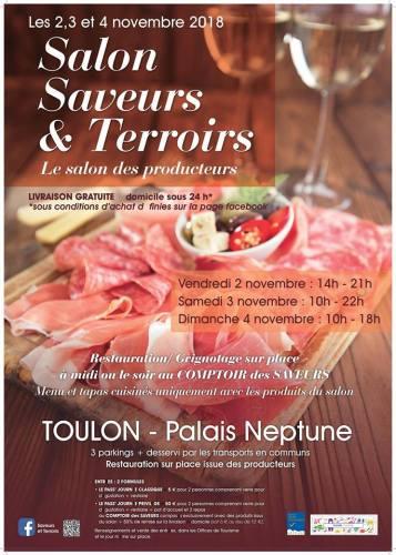 SALON SAVEURS & TERROIRS A TOULON