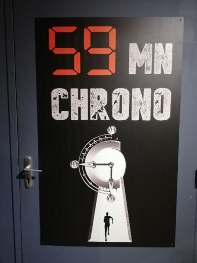 ENTRE 59MN CHRONO LA FARLEDE