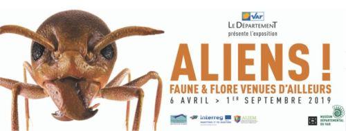 ALIENS FAUNE & FLORE VENUES D'AILLEURS