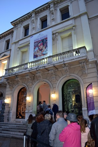 VERNISSAGE EXPOSITION SPEEDY GRAPHITO A L'HOTEL DEPARTEMENTAL DES ARTS A TOULON