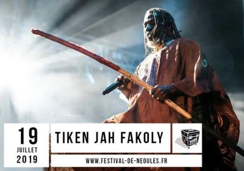TIKEN JAH FAKOLY AU FESTIVAL DE NEOULES