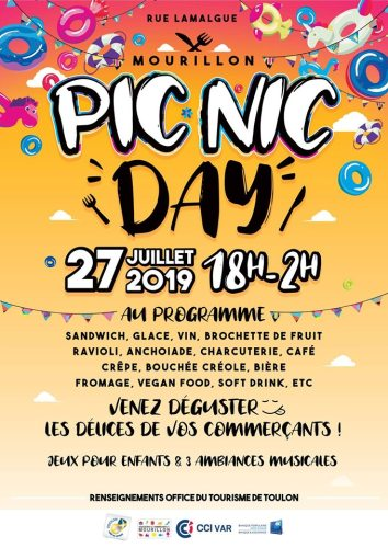 PIC NIC DAY A TOULON MOURILLON