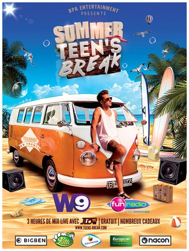 SUMMER TEEN'S BREAK FUN RADIO HYERES