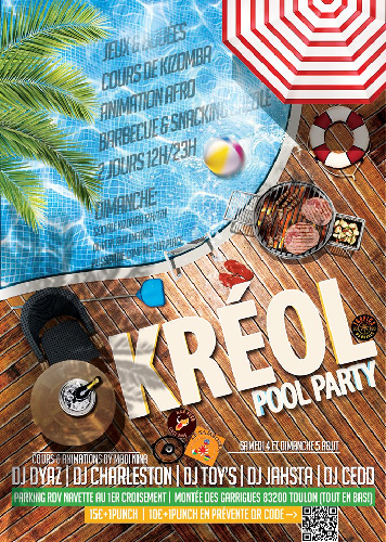 KREOL POOL PARTY