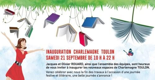 Inauguration de la Librairie Charlemagne