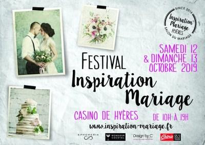 Festival Inspiration Mariage au Casino de Hyères 2019