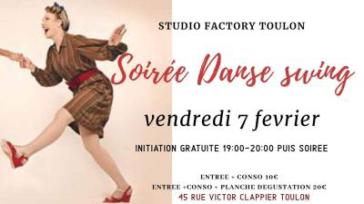 SOIREE DANSE SWING TOULON