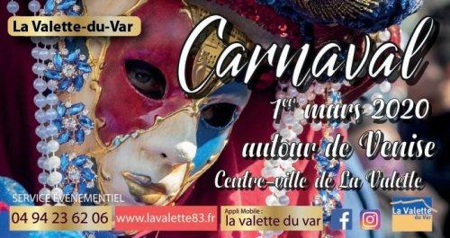 CARNAVAL AUTOUR DE VENISE A LA VALETTE DU VAR