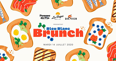 BLEU BLANC BRUNCH