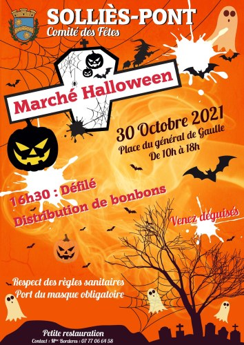 MARCHE HALLOWEEN A SOLLIES-PONT