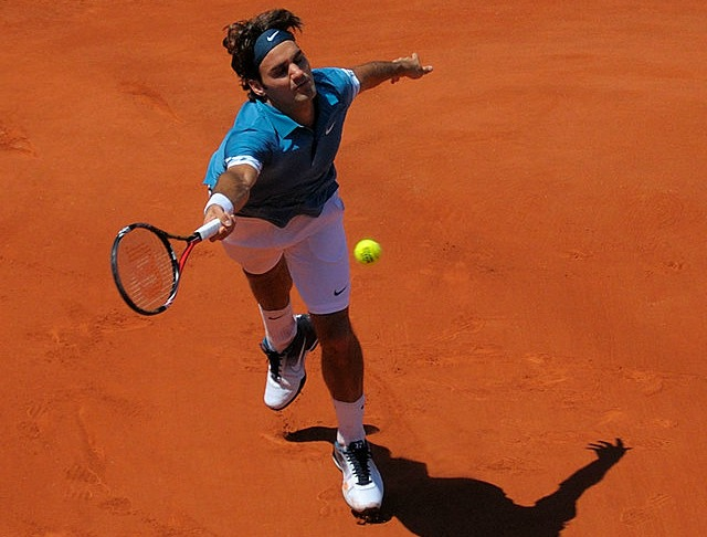 Federer terre battue
