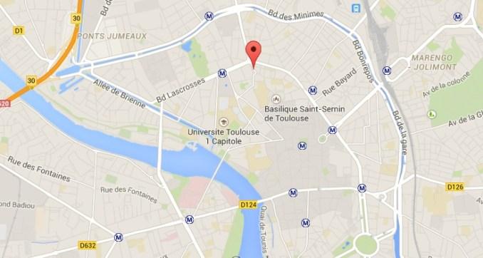 manifestation interdite Toulouse Arnaud Bernard
