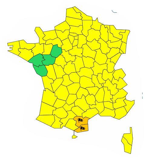 Vent violent Aude et Pyrénées Orientales en alerte orange
