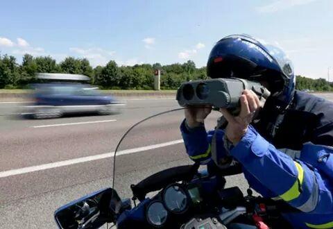 Un automobiliste contrôlé à 206 km/h sur l'A64 entre Toulouse et Bayonne
