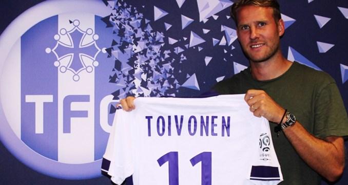 Toulouse bat Lorient. Toivonen marque un triplé et le TFC reprend goût à la victoire