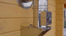 montáž nerezového komína