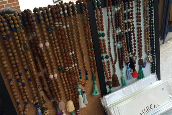 beaded Mala necklaces