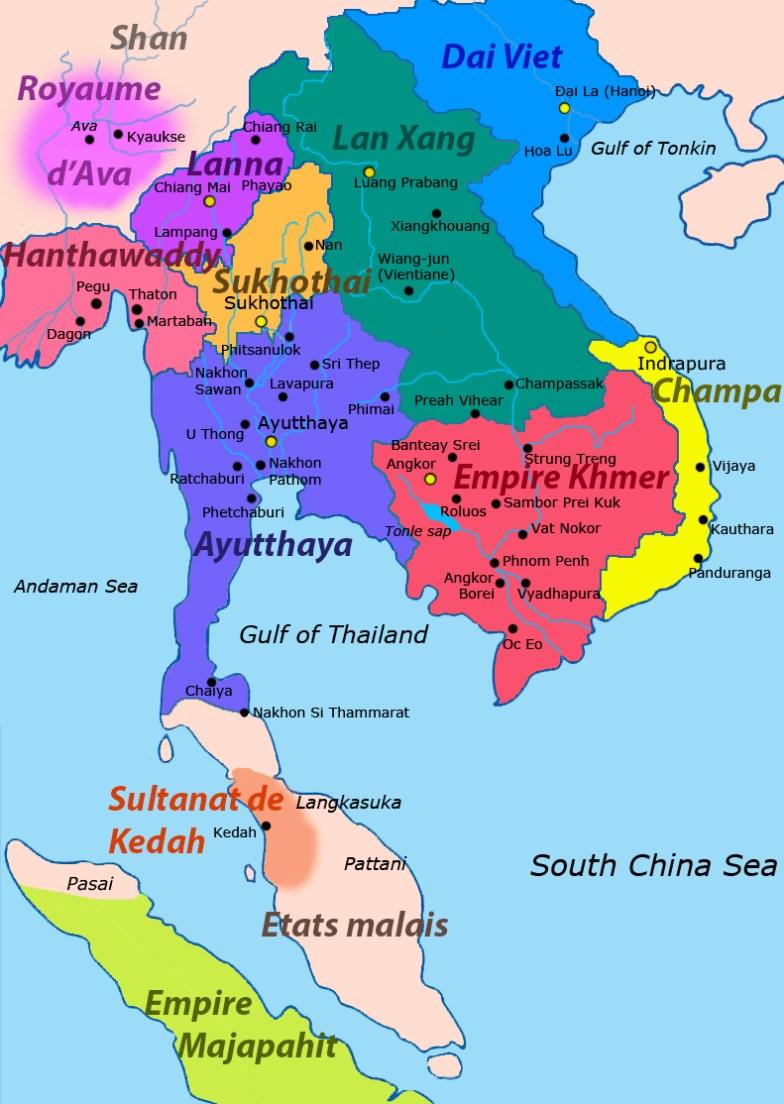Asie sud est (1400)