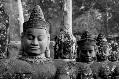 2019-03-14 - Statues Angkor Thom-3