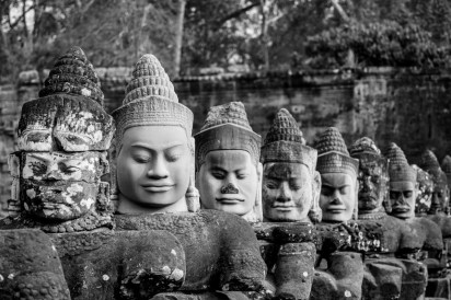 2019-03-14 - Statues Angkor Thom-8