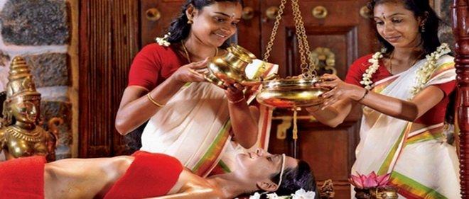 Somatheeram Ayurvedic Health Resort, Kerala, Indien