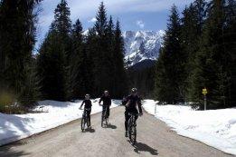Mountainbiken in Elmau
