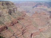 Blick in den Grand Canyon National Park / Arizona vom South Rim