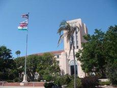 Regierungsgebäude der Stadt San Diego in der Nähe des Hafens