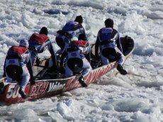 Québec Winter Carnival Eispaddeln