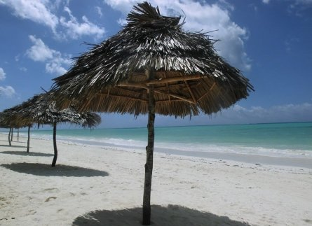 Traumstrand in Tansania, Afrika
