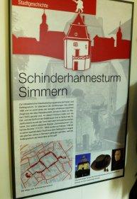 Tafel im Museum