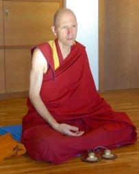 tibetisch-buddhistische Mönch Markus Getzner
