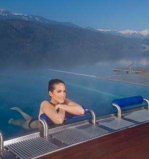 Infinity-Pool, Foto 1.Kärnten Badehaus