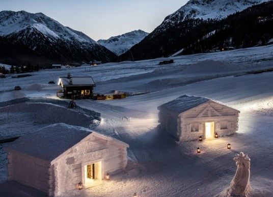 Snow Suiten des Hotels Lac Salin SPA & Mountain Resort in Livigno